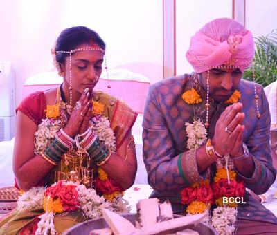 Shweta Salve's wedding bash