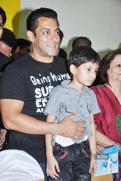 Salman Khan @ Gym launch