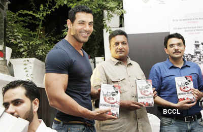 John, Anil @ book launch