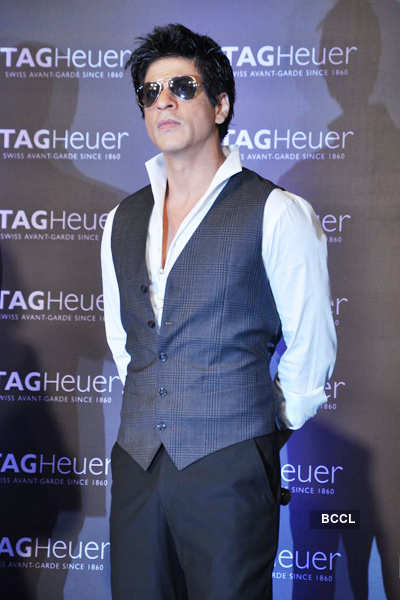 SRK launches Tag Heuer boutique