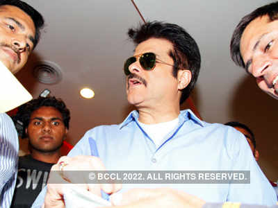 Anil Kapoor promotes 'Tezz'