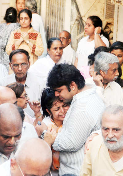 Taruni Sachdev's funeral procession