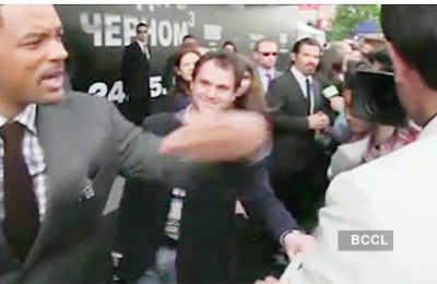 Will Smith slaps Journalist!