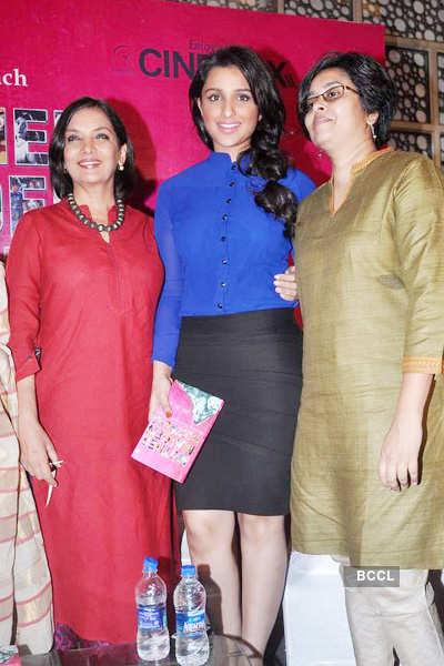 Parineeti, Shabana @ book launch