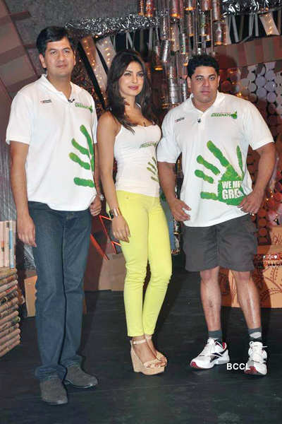 Celebs at 'Greenathon' event