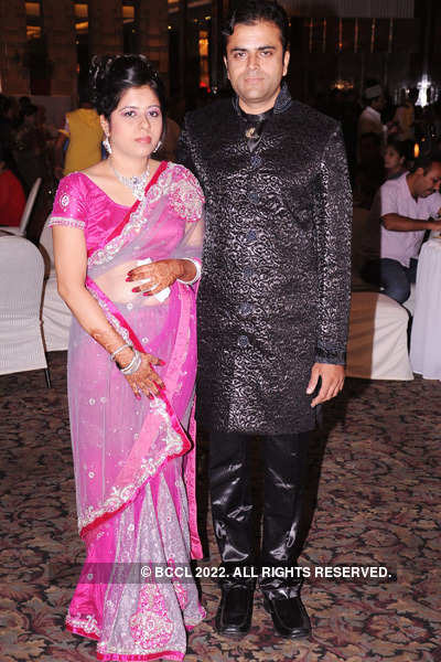Avinash & Megha's wedding reception