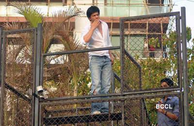 SRK's press meet afer IPL win