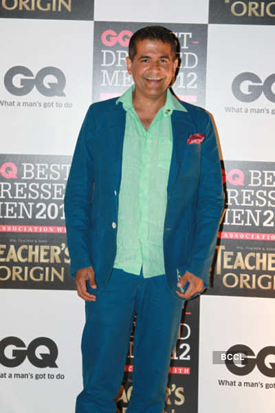Celebs @ GQ's Best Dressed Men '12