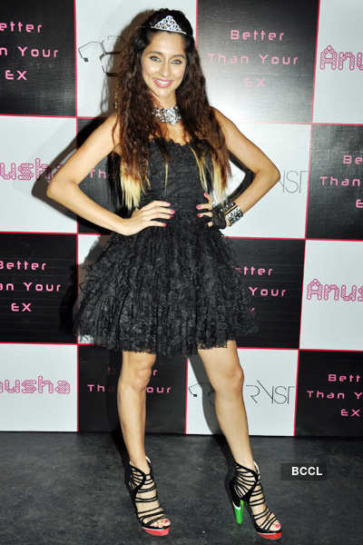 Anusha launches her debut single