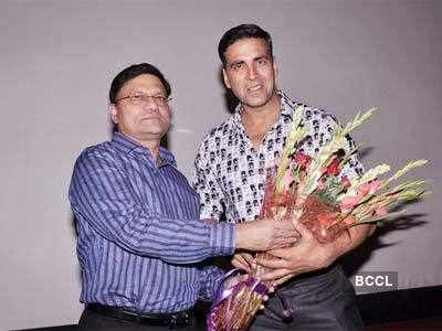Screening of 'Rowdy Rathore' for Delhi Police