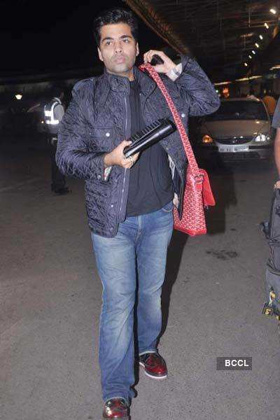 Karan, Manish leave for London