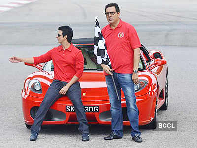 'Ferrari ki Sawari' press meet