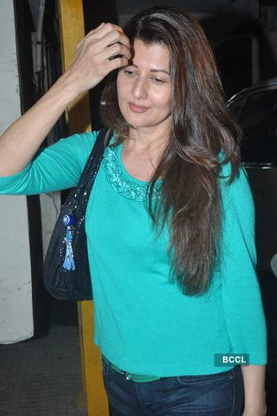 Salman, Sangeeta @ 'Avengers' screening