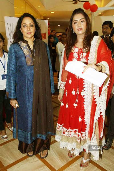 Hema Malini at Summer camp
