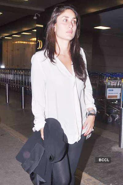 Kareena spotted at airport