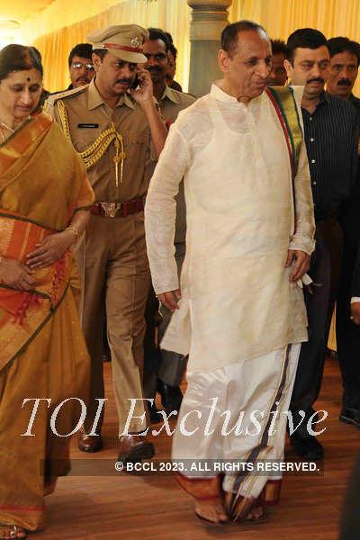 Ram Charan Teja's wedding ceremony