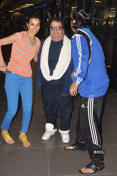Bappi, Bappa & Taneesha back from holiday