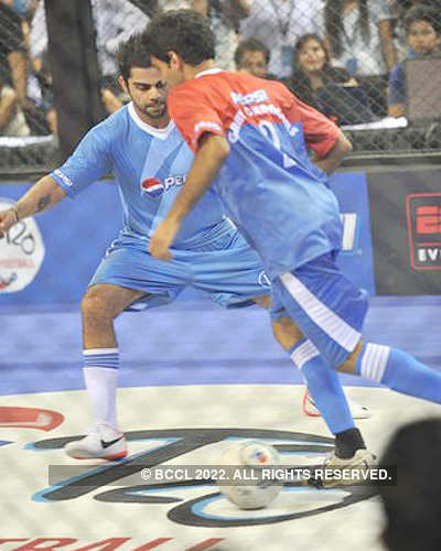 Grand finale of Pepsi T20 Football event