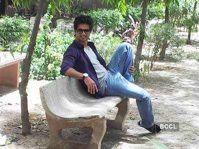 Shahid, Priyanka's fun time in Delhi