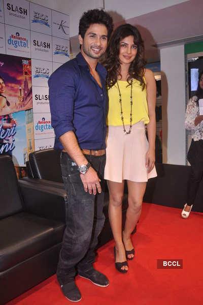 Shahid, Priyanka promote 'Teri Meri Kahaani'