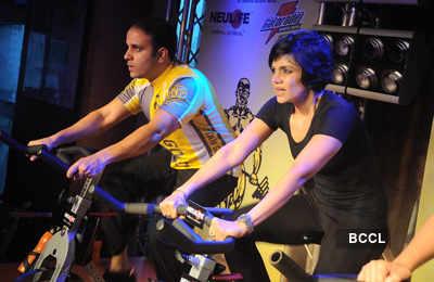 Mandira @ Gold's Gym event
