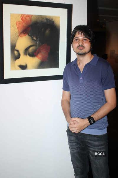 Celebs @ Tao art gallery's show
