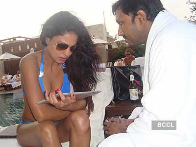 Bikini girl Veena with Hemant