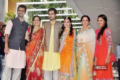 Esha Deol's mehndi ceremony