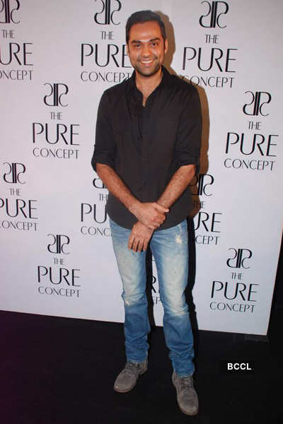 Celebs @ 'Pure Concept' launch