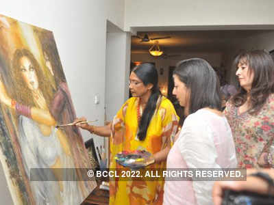 Anjana Kuthiala's art show