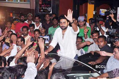 Abhi, Rohit promote 'Bol Bachchan'