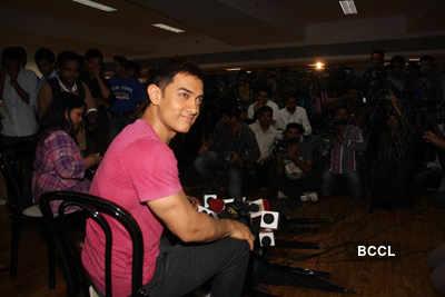 Aamir @ 'Female Foeticide' press meet