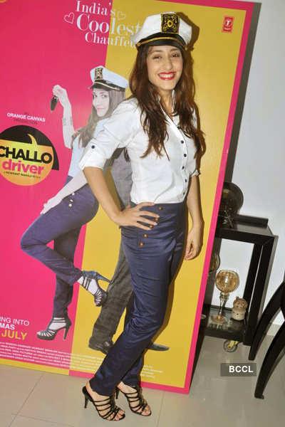 Kainaz promotes 'Challo Driver'