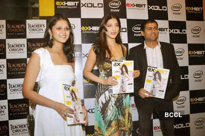 Shruti @ 'Exhibit' mag's launch party