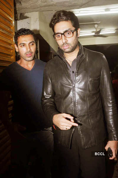 'Bol Bachchan' screening for John