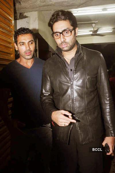 'Bol Bachchan' screening for John