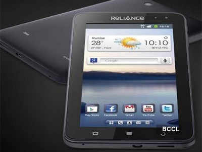 Reliance launches new 3G tablet