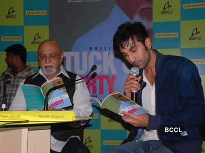 Ranbir @ Pritish Nandy's book launch