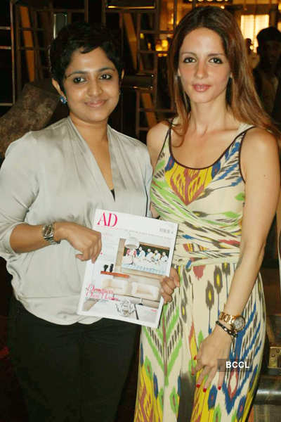 Suzanne Roshan @ magazine launch
