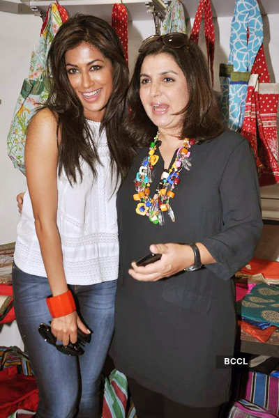 Farah, Chitrangada @ 'Joker' promotion