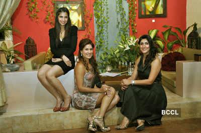 Celebs attend Myrah spa event