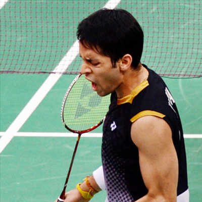 Badminton: Parupalli Kashyap enters quarterfinals
