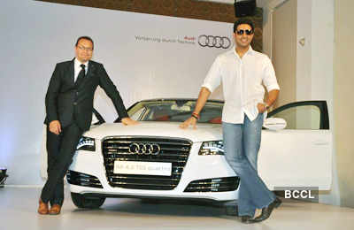 Abhi launches Audi8