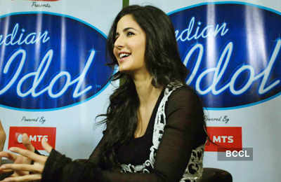 On the sets: 'Indian Idol'
