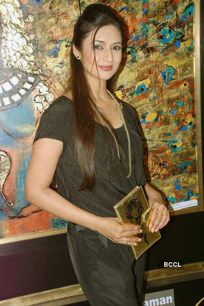 Bina Aziz's art show