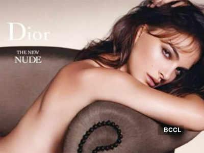 Natalie Portman goes nude for Dior
