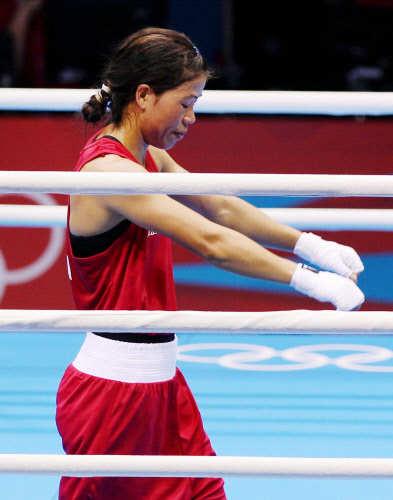 Boxing: Mary Kom settles for Bronze