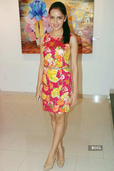 Poonam Agarwal's art exhibition