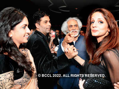 Celebs @ Manish Malhotra's fashion show