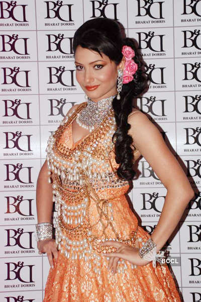 Celebs @ B&D's Bridal look'12
